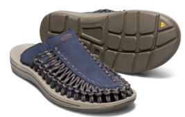 Keen Uneek Slip 9 M (D) Gr.42 Herren Sport Slip Sandalen Schuhe Oberteil Blau