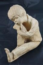Vintage Ann Entis Dave Grossman Designs Figurine Sculpture Contemplation... - $23.71