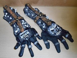 2005 Disguise Co. Latex Arm-Gloves (Skull Decorations) - $9.89