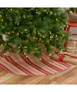 """Vintage stripe Christmas tree skirt 21"""" 48"""" - $49.99+"""