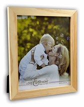 Spiretro 8 x 10 inch Flat Edge Molding, Solid Wood Picture Frame with Ea... - £9.23 GBP