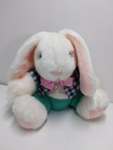 Russ Nate Stuffed Bunny Rabbit Clothed Easter 8 inches  - $16.65