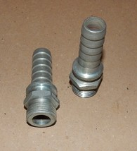 """Dixon Boss Barbed Steel Hose Fitting Stems 3/4"""" OD With Garden Hose Male... - $9.49"""