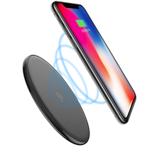 hamtod 10w max black round intelligent qi wireless charger support fast ... - $27.99