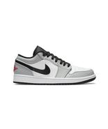 Nike Air Jordan 1 Low (Light Smoke Grey/ Gym Red Black/ White) Men US 8-13 - $239.99