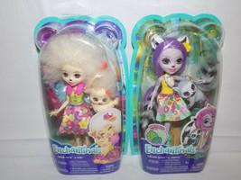 (2X) Enchantimals Dolls Lorna Lamb & Flag and Larissa Lemur & Ringlet - $17.82