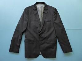 Zara Man Tailored Fit Size 42 Regular Black Navy Plaids Blazer Jacket Dress - $49.50