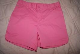 Gap Kids Girl's 5 Pocket Midi Shorts Pink Stretch Size 16 Reg Elastic Waistband - $12.00