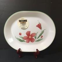 "Oval Serving Platter Corelle Pacific Bloom 12.25"" x 10"" - $14.50"