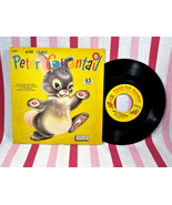 Darling Vintage 1959 Here Comes Peter Cottontail Vinyl 45 rpm Peter Pan ... - $10.00