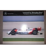 Powered by Mercedes-Benz Al Unser Jrs 1994 Indy 500 Winning Car Brochure Penske - $17.81