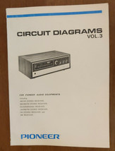 Pioneer Circuit Diagrams Vol. 3 1971 SX QX KX LX FX AX Receivers 160 pages - $37.23