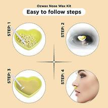 Nose Wax - Nose Hair Waxing Kit for Men and Women 2.1oz 60 grams Waxing Made Eas image 5