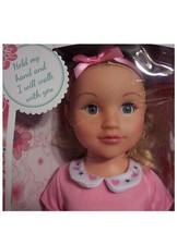 """New Wispy Walker 27"""" Walking Doll Blonde Hair Blue Eyes Uneeda Doll Bnib - $29.91"""