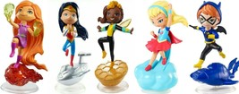 DC Super Hero Girls Mini Figures Lot Of 5 Different Characters  - $29.97