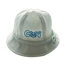 Cotton Hat Baby Cap Summer Hat Foldable Beach Hat Lovely Sunhat Great Gift Blue image 2