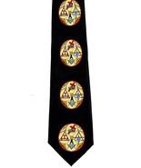 New Masons York Rite Mens Neck Tie Masonic Royal Master Cryptic Templar ... - $15.79