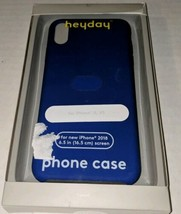 Heyday Apple iPhone X/XS Blue Silicone Case  - $10.23