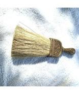 BRUSH Vtg Wood Horse Hair HAnd Broom - $29.65