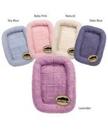 Sherpa Crate Dog Beds Soft Plush Comfortable Bed For Dogs Choose Size an... - £14.42 GBP+