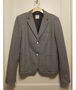 Gap Women's The Academy Blazer, Navy White Stripe Polyester, Size 12, Pr... - $59.99
