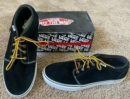 NEW VANS SHOES CHUKKA 79 PRO CLASSICS 11.5 MENS BLACK BROWN OXFORD SUEDE... - €47,28 EUR