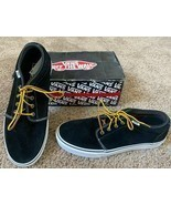 NEW VANS SHOES CHUKKA 79 PRO CLASSICS 11.5 MENS BLACK BROWN OXFORD SUEDE... - $73.62 CAD