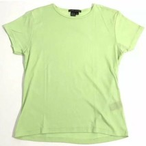 Ralph Lauren Shirt Black Label Women XL Green Top USA MADE - $14.88