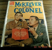 McKeever And The Colonel #3 1963- Dell TV comic- FN - $11.71