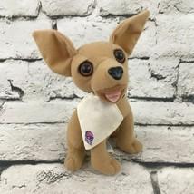 Applause VTG 90's Yo Quiero Taco Bell Chihuahua Plush Stuffed Dog Market... - $5.93