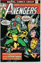 Avengers #135 FN Origin of Vision Continued - $24.99