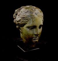 Hygeia head statue Ancient Greek Goddess of health - $249.00