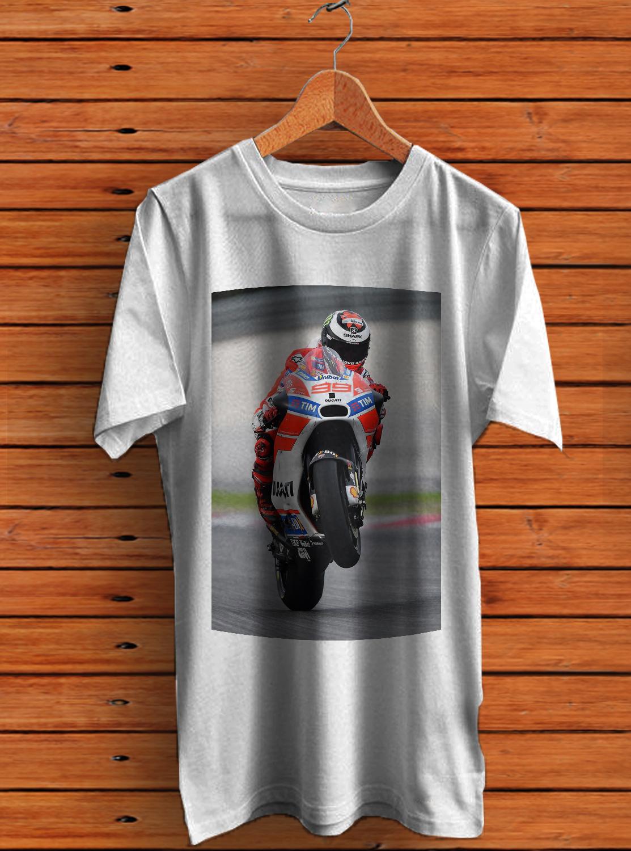 Ducati 916 mens all sizes Legendary Racing Bike T-shirt Carl Fogarty