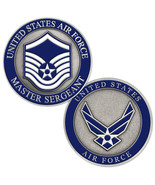 NEW USAF U.S. Air Force Master Sergeant Challenge Coin. - $14.99