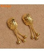 Anniyo New Metal Earrings With Rund Ball for Women/Girls Arab African Je... - $9.51