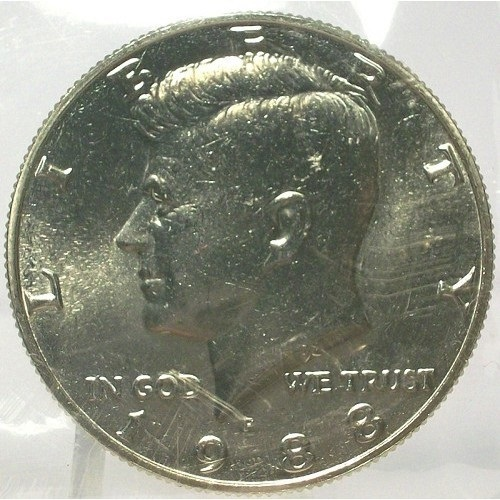 Primary image for 1988-P Kennedy Half Dollar BU In the Cello #0680