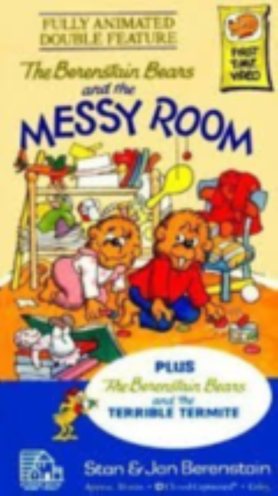 The Berenstain Bears and the Messy Room Vhs