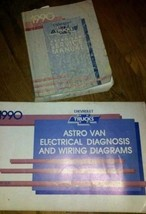 1990 GM Chevy Astro Van Service Repair Shop Workshop Manual Set W EWD - $20.01
