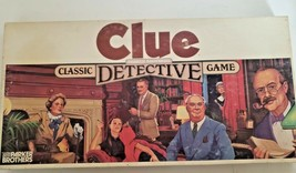 Clue the Board Game Classic Detective by Parker Brothers 1986 Vintage.. Complete image 2