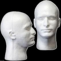 New Prop Building Supplies-MANNEQUIN HEAD-Halloween Costume Mask Wig Dis... - ₨720.94 INR