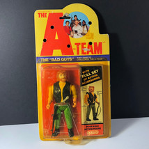 1983 Galoob A-TEAM Action Figure Vintage Moc The Bad Guys Viper Sniper Red Beard - $143.55