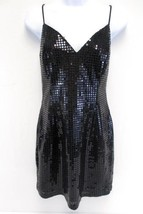 Vintage 80's Roberta Sequin Little Black Dress ... - $67.32