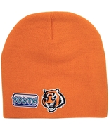 NFL Cincinnati Bengals Youth Size Winter Knit Beanie Hat Skull Cap Orange - $12.95