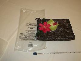 Avon Marque Femmes Naturel Paille Main Sac F3200741 Maquillage Voyage Neuf - $16.02