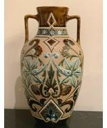 Antique Royal Doulton Lambeth Eliza Simmance Large Art Nouveau Vase - $1,200.00