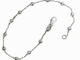 Bracelet en or 18 KT Fantaisie avec des Boules - Sphères à Rayures - $196.97