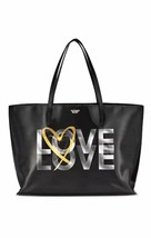 NWT Victoria's Secret Love Black Holographic Tote Bag 2017 - $28.04