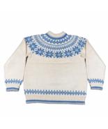 Vintage Dale of Norway Sweater Jumper Womens 52 M Nordic Fair Isle Wool ... - $65.09