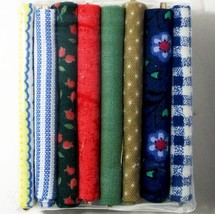 Dollhouse 8 Bolts of Fabric Miniature Scale Serendipity HW450 #13 - $10.76
