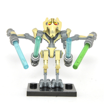 General Grievous Star Wars Minifigures Custom Minifig Toy Building Super... - $4.99